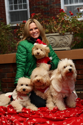 Jenny Blume, owner of Swinging Gate Australian Labradoodles